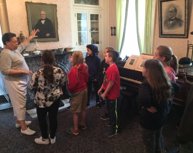 Hartzell Home tour for kids