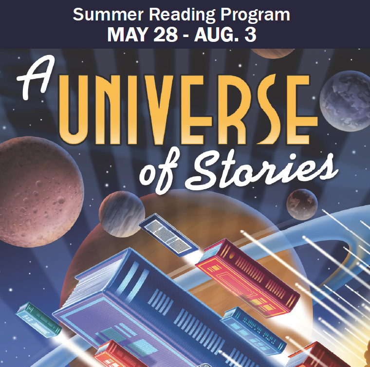Summer Reading Program, May 28-August 3